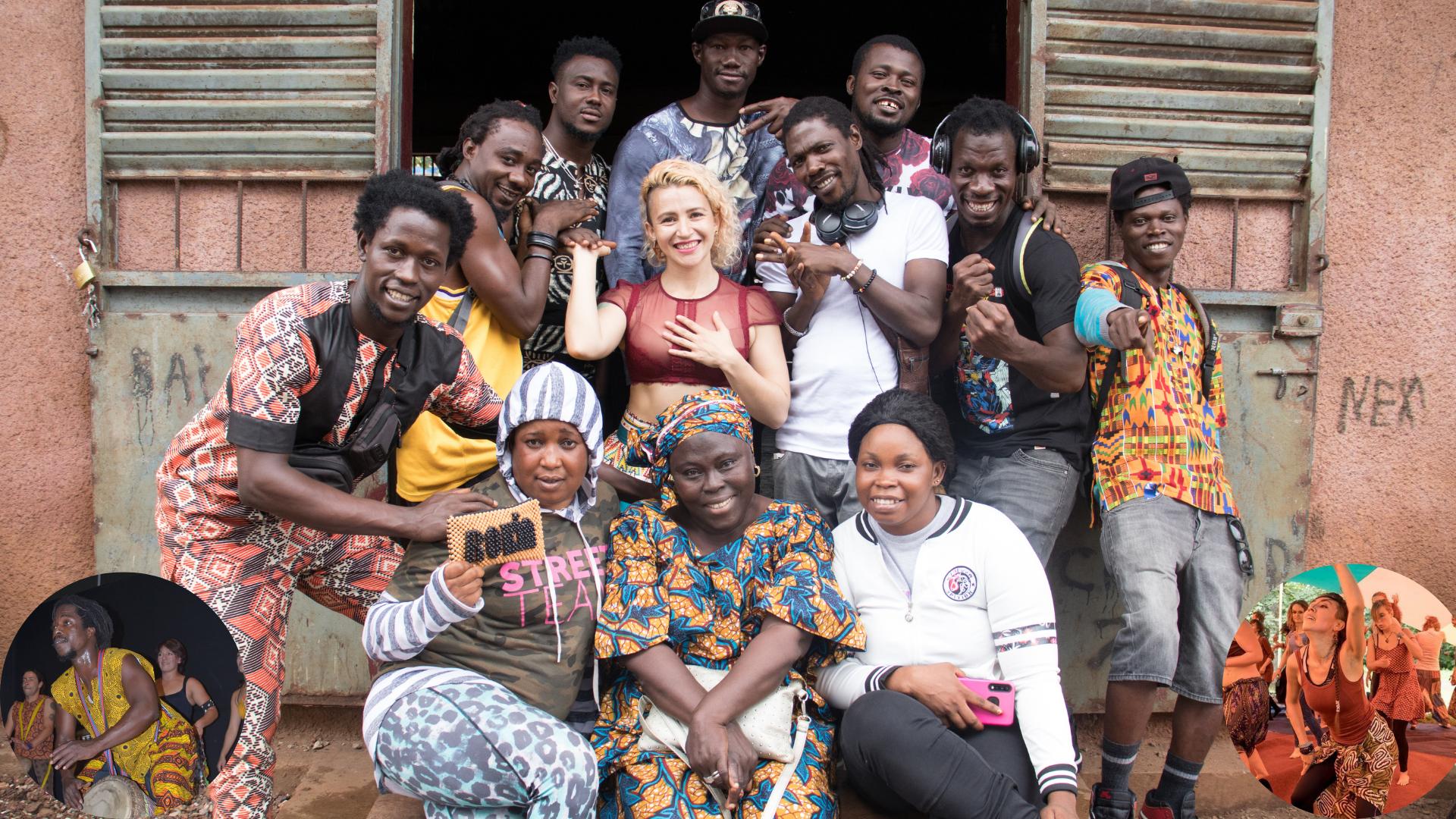 Tanz und Trommelworkshops aus Guinea Conakry! (Online Angebot)